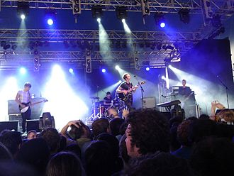 Splendour in the Grass - Editors performing at 2007 Splendor in the Grass Festival