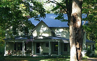 National Register of Historic Places listings in Allegan County, Michigan - Image: Edward D Born House