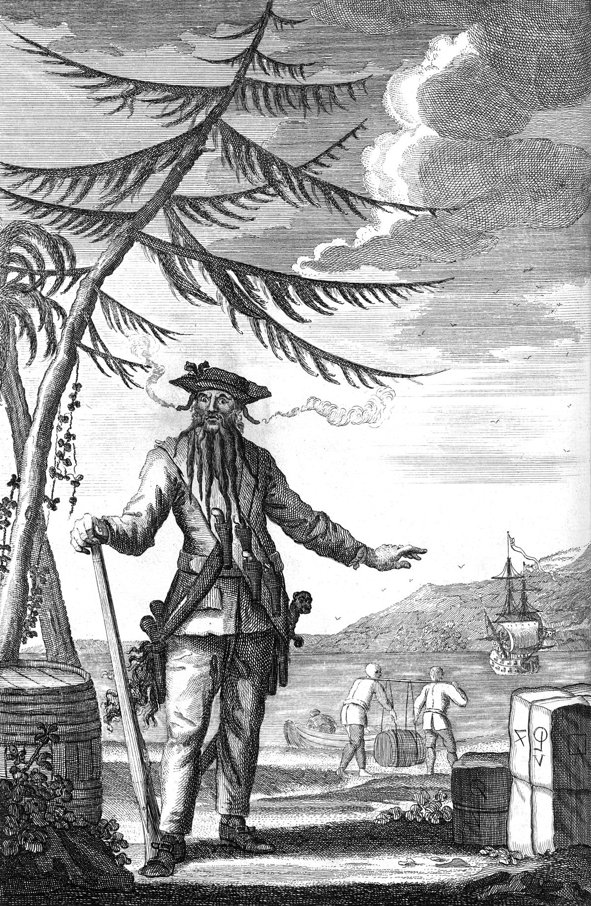 15 Facts About Blackbeard