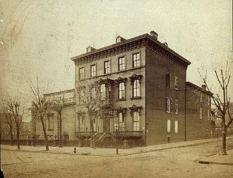 Edwin Forrest - Edwin Forrest home in Philadelphia
