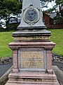 Edwin Waugh monument in Rochdale, Lancashire, England.jpg