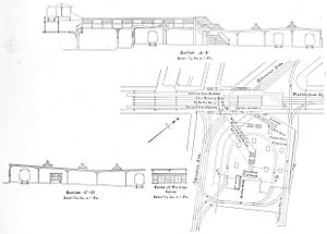 Egleston (MBTA station) - 1916 plans for the transfer station