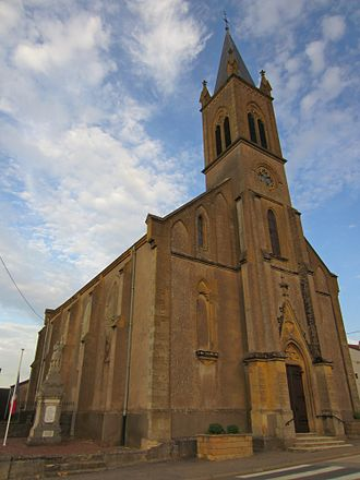 Gravelotte - The church in Gravelotte