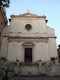 San Lorenzo in Panisperna church building in Rome, Italy