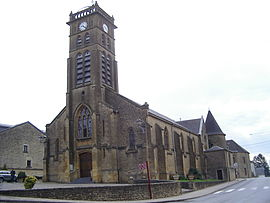 The church in Vivier-au-Court