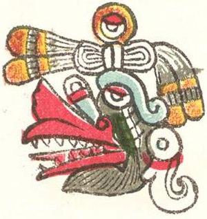 Aztec calendar - Image: Ehecatl 2