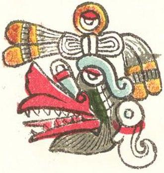 Tōnalpōhualli - Image: Ehecatl 2
