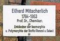 Ehrengrab Großgörschenstr 12 (Schön) Eilhard Mitscherlich2.jpg