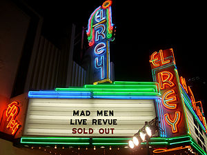 El Rey Theater in Los Angeles on Wilshire Blvd...