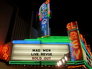 El Rey Theatre music venue and former movie theater in the Miracle Mile area of the Mid-Wilshire region in Los Angeles, California, United States