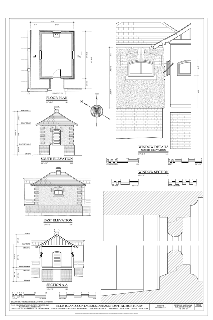 Plan Elevation Section Of Hospital : File elevations section floor plan and window details