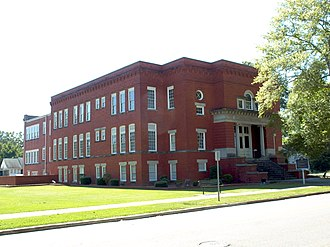 National Register of Historic Places listings in Etowah County, Alabama - Image: Eleventh Street School Gadsden Oct 2014 1