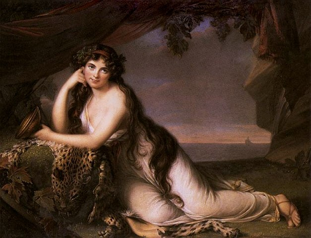 Elisabeth Vig%C3%A9e-Lebrun - Lady Hamilton as Ariadne