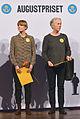 Ellen Karlsson och Eva Lindström, Augustprisvinnare 2013.jpg
