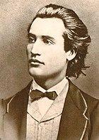 Mihai Eminescu, national poet of Romania and Moldova