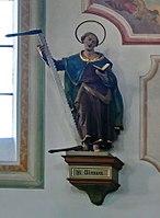 Emmering Kirche St Johann Baptist & Evangelist 064 Nordwand Simon.jpg