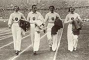 Emmy Albus, Käthe Krauß, Marie Dollinger, Ilse Dörffeldt 1936