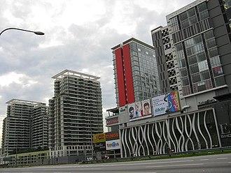 Empire Subang - View of Empire Subang from Federal Highway