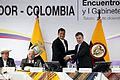 Encuentro Presidencial y I Reunión del Gabinete Binacional Ecuador-Colombia. (8265191568).jpg