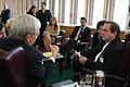 Encuentro entre el canciller Ricardo Patiño con el canciller de Australia, Kevin Rudd (6170377416).jpg