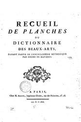 Encyclopédie méthodique - Philosophie - T1, p1, A-B