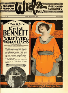 <i>What Every Woman Learns</i> 1919 film