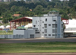 Operation Entebbe - Image: Entebbe Uganda Airport Old Tower 1