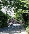 Entering Burley on Station Road - geograph.org.uk - 177431.jpg