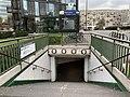 Entrée Station Métro Pont Sèvres Boulogne Billancourt 5.jpg