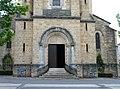 Entrée de l'église de Prayssac.JPG