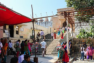 Palitana temples - The entrance to the temples
