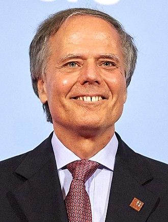 Italian Minister of Foreign Affairs - Image: Enzo Moavero Milanesi 2018