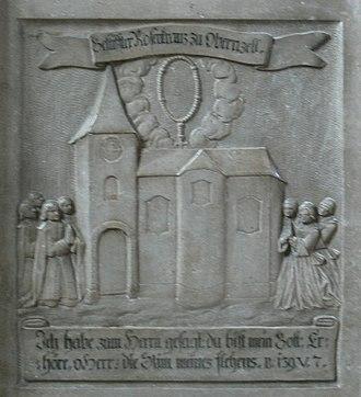 Obernzell - Epitaph Lukas Kern, Schiffermeister