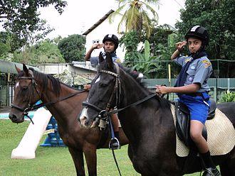 Sri Lanka Scout Association - Equestrian Scouts