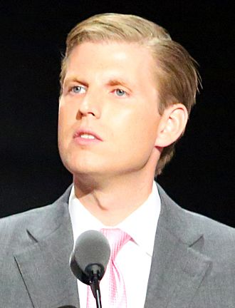 Eric Trump - At the July 2016 Republican National Convention