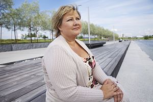 Conservative Party (Norway) - Chairwoman and Prime Minister Erna Solberg