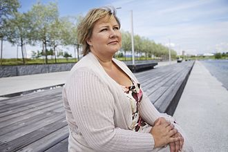 Conservative Party (Norway) - Chairperson and Prime Minister Erna Solberg