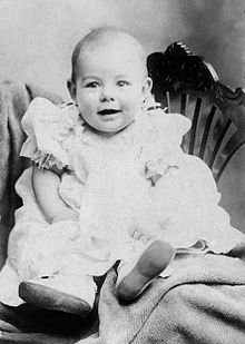 photograph of an infant