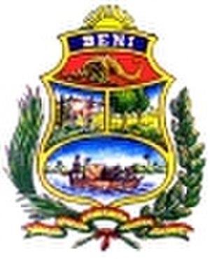 Beni Department - Image: Escudo de Beni