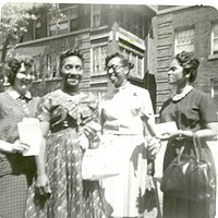 Esther Lefever, Mabel Young, Sara Young, and Velma Coleman (9402176209).jpg