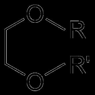 Ethylenedioxy - Ethylenedioxy chemical structure.