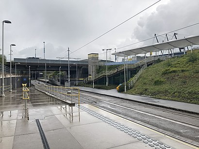 How To Get To Etihad Campus Metrolink Station In Manchester By Bus