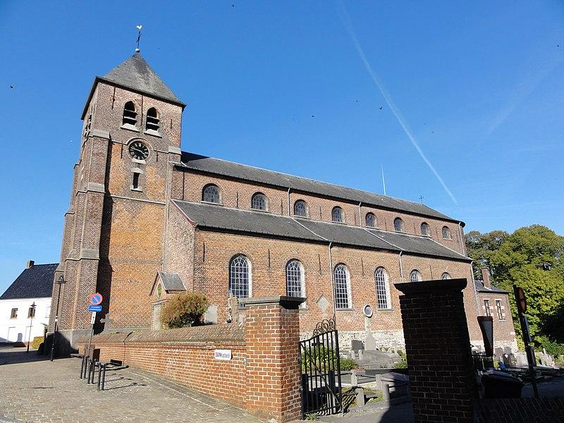Sint-Britiuskerk in Etikhove.Sint-Britiuskerk (Church of Saint Brice) in Etikhove. Etikhove, Maarkedal, East Flanders, Belgium