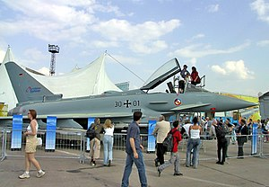ILA Berlin Air Show - Image: Eurofighter Typhoon ILA2002