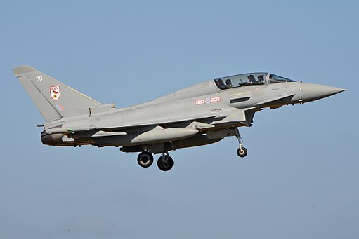 Eurofighter Typhoon T.3 'ZK382 - BG' (30750294326)