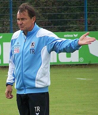 Ewald Lienen - Lienen as manager of TSV 1860 München in 2009.