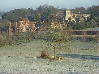 Ewelme village and civil parish in South Oxfordshire, England