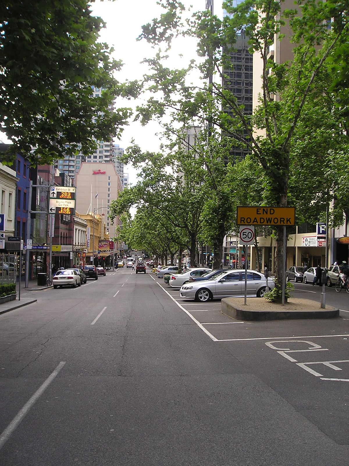 Street Parking In Fashion District