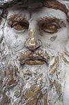 exterieur timpaan, beeldhouwwerk, detail - leiden - 20263132 - rce