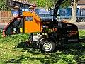 Först tree shredder in Tottenham, Haringey, London, England 7.jpg